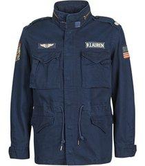 parka jas polo ralph lauren blouson parka m65 avec patch en coton