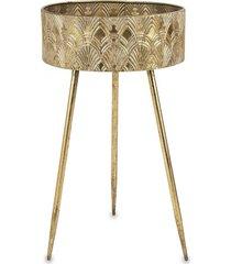 kwietnik botanic złoty metalowy 68,5x39,5cm