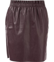 vero moda riley ruffle skirt size 14 in red