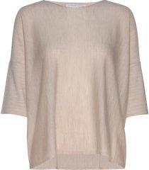 wide tee-shirt t-shirts & tops short-sleeved beige cathrine hammel