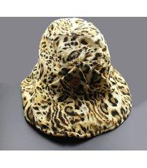 sombrero ancho para dos lados de ala ancha con doble sombrero para las