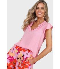 blusa rosa new liza 9126-1