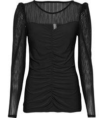 maglia con maniche lunghe in mesh (nero) - bodyflirt boutique