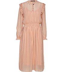 allover printed dress knälång klänning orange scotch & soda