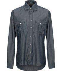harris wharf london denim shirts
