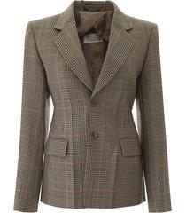 maison margiela prince of wales jacket