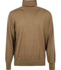 z zegna roll neck classic sweater