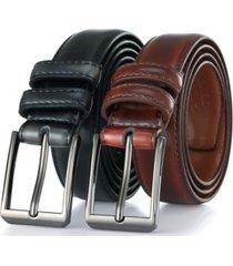 gallery seven men's genuine leather dress belt