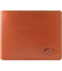 mancini manchester collection men's rfid secure left wing wallet