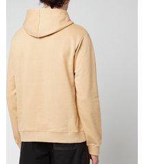 kenzo men's tiger seasonal hoodie - dark beige - xxl