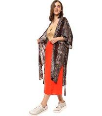 kimono marrón portsaid