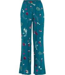 pantaloni a palazzo (petrolio) - bodyflirt boutique