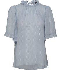 dolli blouses short-sleeved blauw stella nova