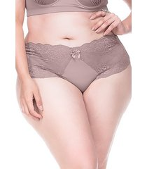 calcinha sempre sensual lingerie retrô lilás - kanui