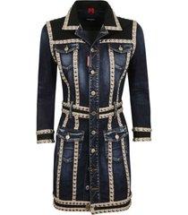 dsquared2 studded denim dress