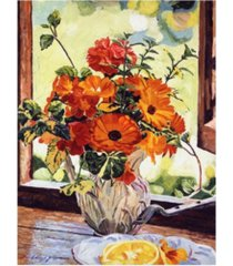 "david lloyd glover summer house still life canvas art - 37"" x 49"""