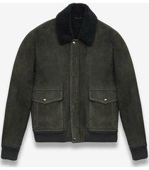 larusmiani shearling aviator jacket transatlantic