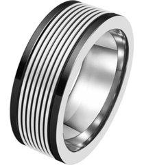 anel zye listras preto incolor