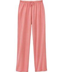 pyjamabroek uit biologische zijde, roze 40