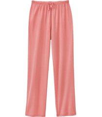 pyjamabroek uit biologische zijde, roze 34