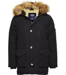 smith jacket parka jas zwart svea