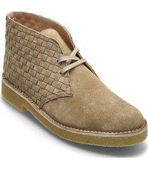 desert boot221 snörade stövlar beige clarks originals