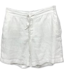 charter club pull-on shorts, created for macy's