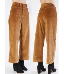 pantalón marrón mistral cachi