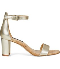 sandalia para mujer nine west pruce3 - dorado