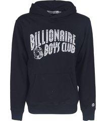 billionaire boys club arch logo glitter hoodie