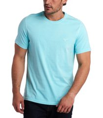 barbour men's garment dyed crew-neck t-shirt