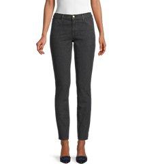j brand women's 620 mid-rise sparkle super skinny jeans - faded futu - size 25 (2)