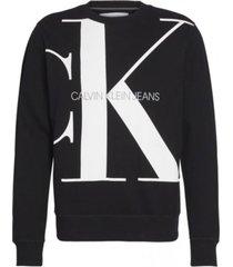 sweater monogram negro calvin klein