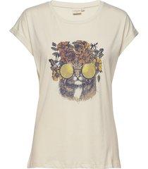 carriecr t-shirt t-shirts & tops short-sleeved gul cream