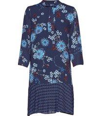 dress kort klänning blå marc o'polo