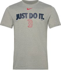 boston red sox nike team just do it legend t-shirt t-shirts short-sleeved grå nike fan gear