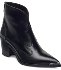 marcel_ne shoes boots ankle boots ankle boot - heel svart unisa
