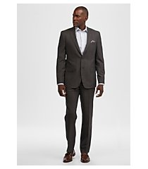 reserve collection tailored fit plaid men's suit - big & tall by jos. a. bank