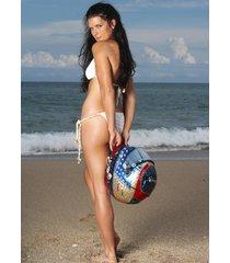 danica patrick bikini beach helmet  2.5 x 3.5 fridge magnet