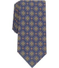 tasso elba men's plima medallion silk necktie, created for macy's