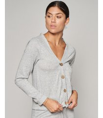 saco gris prussia relaxed