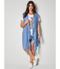 mouwloos vest angel of style blauw