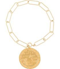 alighieri chain bracelet - metallic