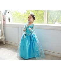 &girl  dress costume  princess queen elsa party birthday size 2-8t