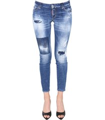 medium dark patches wash jennifer jeans
