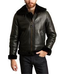 bombardier sheepskin jacket