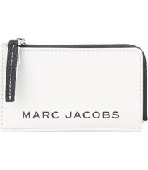 marc jacobs black and white cardholder the the colorblock small top zip