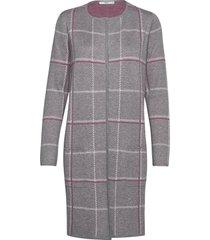 amanda jurk knielengte grijs brax