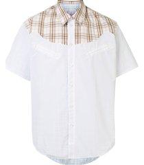 martine rose glen reversible shirt - white