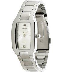 reloj dama casio ltp 1165a-7c2df pulso en acero análogo pulso en acero inoxidable resistente al agua